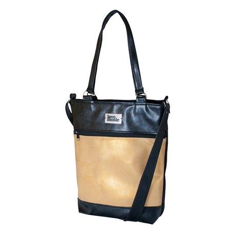 Dámská kabelka Elinor - Bronzovozlatá
