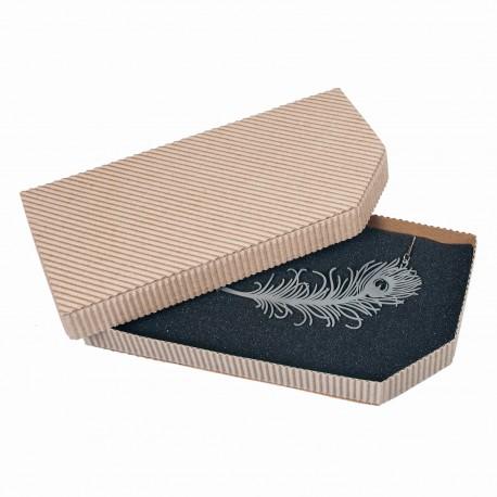 Papírová krabička na šperky - Obdélníková kazeta