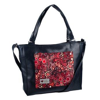 Dámská kabelka Amélie - černá – Rudé perlení