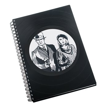 Diář z vinylových desek 2019 - Bonnie a Clyde