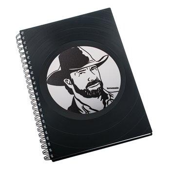 Diář z vinylových desek 2018 - Chuck Norris