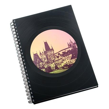 Diář z vinylových desek 2018 - Praha