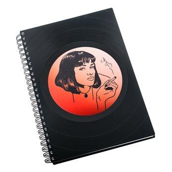 Diář z vinylových desek 2018 - Uma Thurman