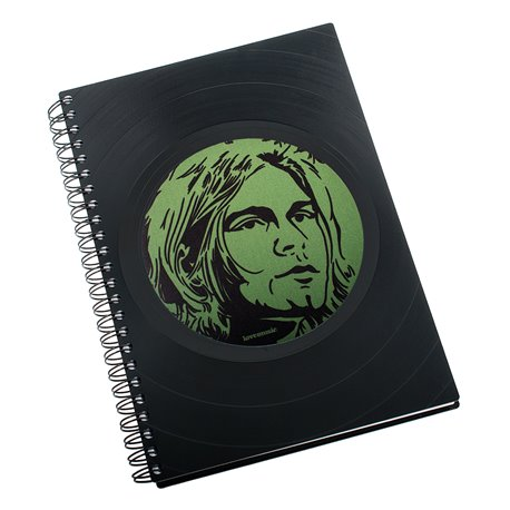 Diář z vinylových desek 2018 - Kurt Cobain