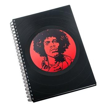 Diář z vinylových desek 2018 - Jimi Hendrix
