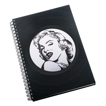 Diář z vinylových desek 2022 - Marilyn Monroe