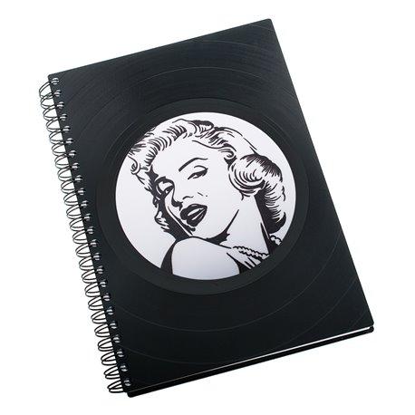 Diář z vinylových desek 2018 - Marilyn Monroe