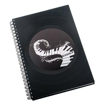 Diář z vinylových desek 2021 - Klaviatura