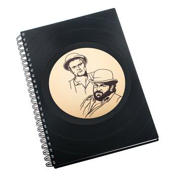 Diář z vinylových desek 2019 - Bud Spencer a Terence Hill