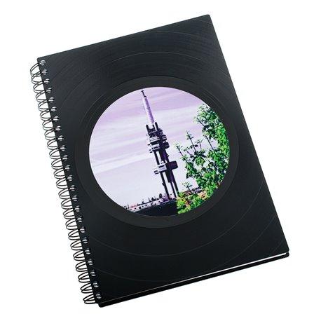 Diář z vinylových desek 2018 - Žižkovská věž