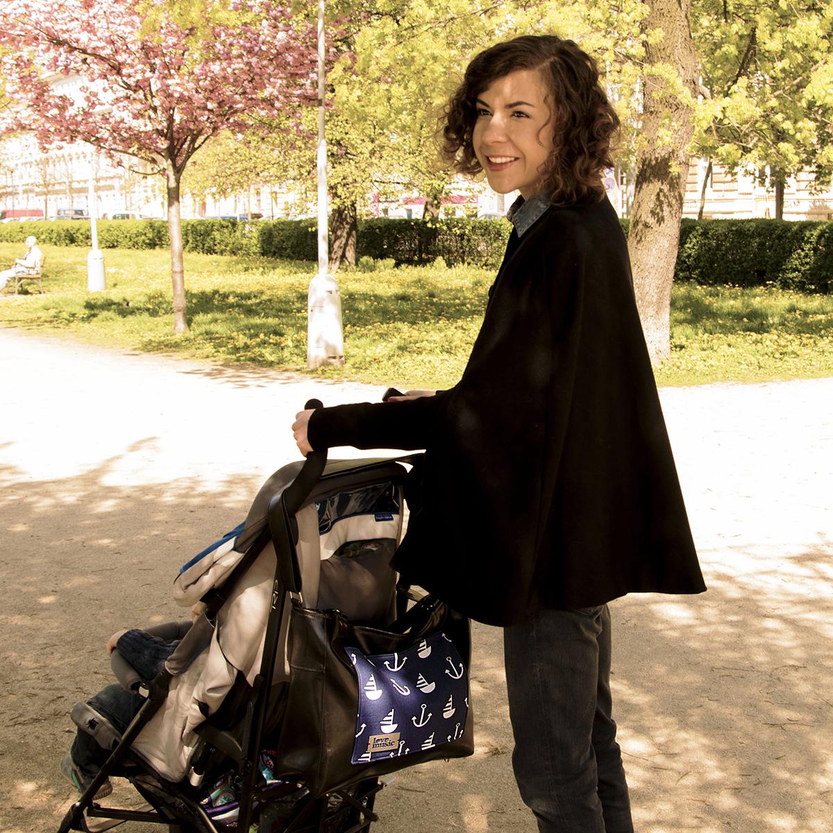 Dámská kabelka Amélie - Kabelka na kočárek