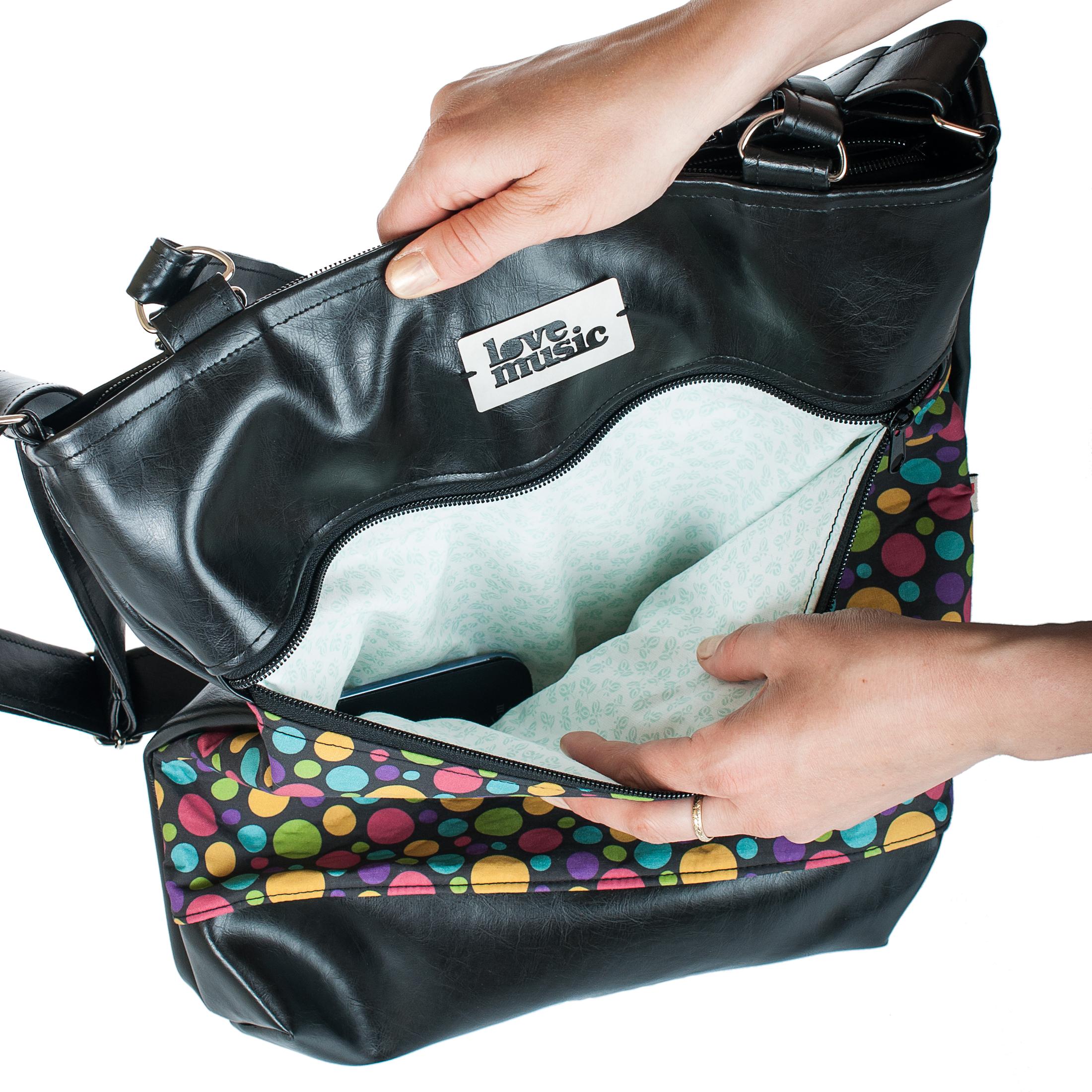 Dámská kabelka Elinor - detailní pohled
