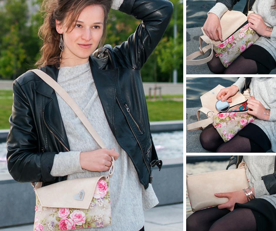 Malá dámská kabelka Rande Dafné - detailní pohled
